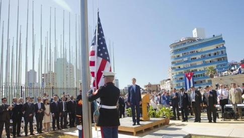 Congressman Cohen went to Cuba with Secretary of State John Kerry to help raise the flag over our Embassy in Havana once again.